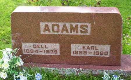 ADAMS, EARL - Howell County, Missouri | EARL ADAMS - Missouri Gravestone Photos