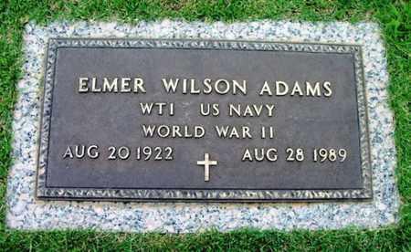 ADAMS, ELMER WILSON VETERAN WWII - Howell County, Missouri | ELMER WILSON VETERAN WWII ADAMS - Missouri Gravestone Photos
