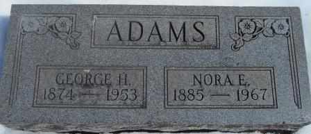 ADAMS, NORA - Howell County, Missouri | NORA ADAMS - Missouri Gravestone Photos