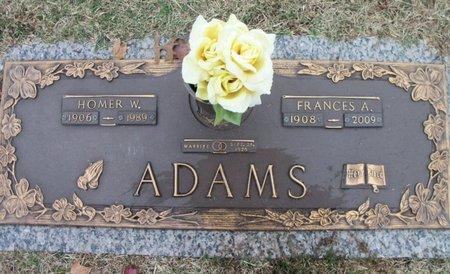 ADAMS, HOMER W. - Howell County, Missouri | HOMER W. ADAMS - Missouri Gravestone Photos