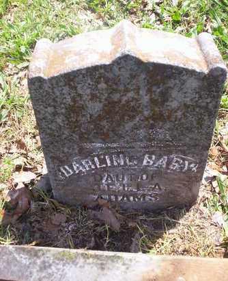 ADAMS, INFANT - Howell County, Missouri | INFANT ADAMS - Missouri Gravestone Photos
