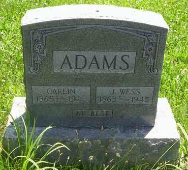 ADAMS, CARLIN - Howell County, Missouri   CARLIN ADAMS - Missouri Gravestone Photos