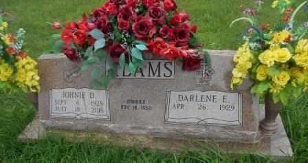 ADAMS, JOHNIE DAVID - Howell County, Missouri | JOHNIE DAVID ADAMS - Missouri Gravestone Photos
