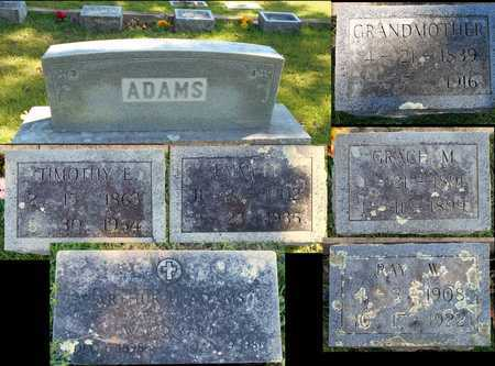 ADAMS, GRACE M - Howell County, Missouri | GRACE M ADAMS - Missouri Gravestone Photos