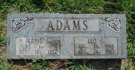 ADAMS, LEO GEORGE - Howell County, Missouri | LEO GEORGE ADAMS - Missouri Gravestone Photos