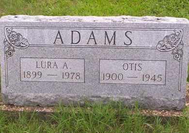 ADAMS, OTIS - Howell County, Missouri | OTIS ADAMS - Missouri Gravestone Photos
