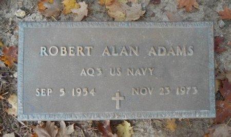 ADAMS, ROBERT ALAN VETERAN - Howell County, Missouri | ROBERT ALAN VETERAN ADAMS - Missouri Gravestone Photos