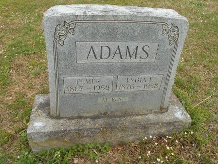 ADAMS, LYDIA - Howell County, Missouri | LYDIA ADAMS - Missouri Gravestone Photos