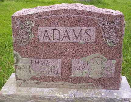 ADAMS, THOMAS FRANK - Howell County, Missouri | THOMAS FRANK ADAMS - Missouri Gravestone Photos