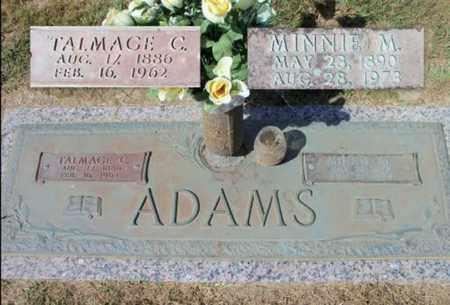 ADAMS, MINNIE M. - Howell County, Missouri | MINNIE M. ADAMS - Missouri Gravestone Photos
