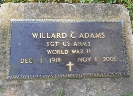 ADAMS, WILLARD CHARLES VETERAN WWII - Howell County, Missouri   WILLARD CHARLES VETERAN WWII ADAMS - Missouri Gravestone Photos