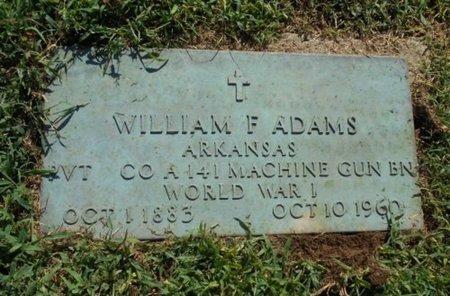 ADAMS, WILLIAM F. VETERAN WWI - Howell County, Missouri | WILLIAM F. VETERAN WWI ADAMS - Missouri Gravestone Photos
