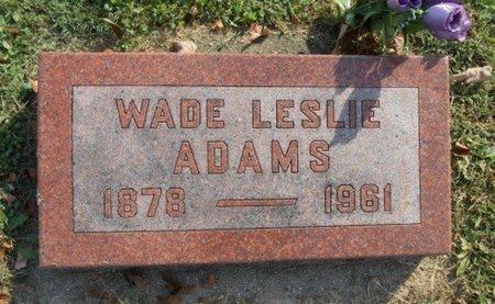 ADAMS, WADE LESLIE - Howell County, Missouri   WADE LESLIE ADAMS - Missouri Gravestone Photos
