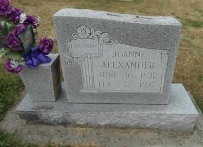 SIMMONS ALEXANDER, JOANNE - Howell County, Missouri | JOANNE SIMMONS ALEXANDER - Missouri Gravestone Photos