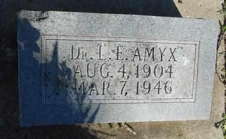 AMYX, LAWRENCE - Howell County, Missouri | LAWRENCE AMYX - Missouri Gravestone Photos