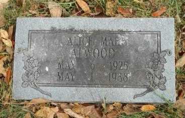 ATWOOD, ALICE MAE - Howell County, Missouri | ALICE MAE ATWOOD - Missouri Gravestone Photos