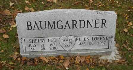 BAUMGARDNER, SHELBY LEE - Howell County, Missouri | SHELBY LEE BAUMGARDNER - Missouri Gravestone Photos