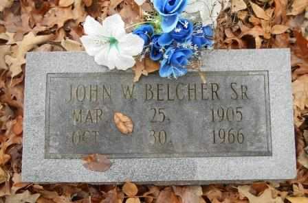 BELCHER, JOHN W. - Howell County, Missouri | JOHN W. BELCHER - Missouri Gravestone Photos