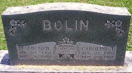 BOLIN, CAROLINE - Howell County, Missouri | CAROLINE BOLIN - Missouri Gravestone Photos