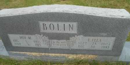 BOLIN, ROY MARTIN - Howell County, Missouri | ROY MARTIN BOLIN - Missouri Gravestone Photos