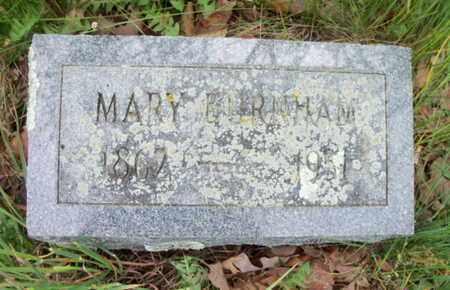 SPENCE BURNHAM, MARY ANN - Howell County, Missouri | MARY ANN SPENCE BURNHAM - Missouri Gravestone Photos