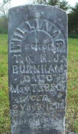 BURNHAM, WILLIAM C. - Howell County, Missouri | WILLIAM C. BURNHAM - Missouri Gravestone Photos