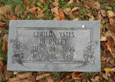 BURNLEY, CERILDA - Howell County, Missouri | CERILDA BURNLEY - Missouri Gravestone Photos