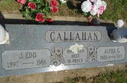CALLAHAN, J EDD - Howell County, Missouri | J EDD CALLAHAN - Missouri Gravestone Photos