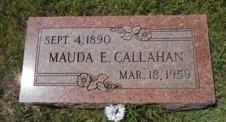 FOX CALLAHAN, MAUDA E - Howell County, Missouri | MAUDA E FOX CALLAHAN - Missouri Gravestone Photos