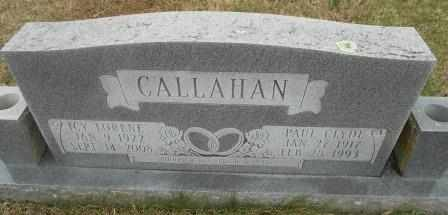 WEBB CALLAHAN, ICY LORENE - Howell County, Missouri | ICY LORENE WEBB CALLAHAN - Missouri Gravestone Photos