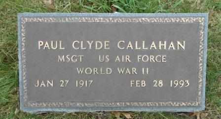 CALLAHAN, PAUL CLYDE VETERAN WWII - Howell County, Missouri | PAUL CLYDE VETERAN WWII CALLAHAN - Missouri Gravestone Photos