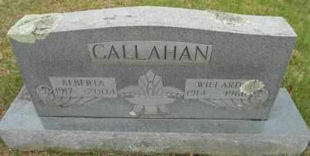 CALLAHAN, WILLARD - Howell County, Missouri | WILLARD CALLAHAN - Missouri Gravestone Photos