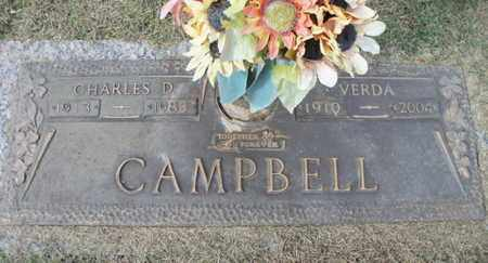 CAMPBELL, CHARLES D. - Howell County, Missouri | CHARLES D. CAMPBELL - Missouri Gravestone Photos