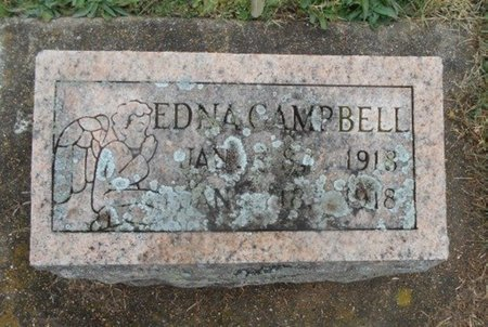 CAMPBELL, EDNA - Howell County, Missouri | EDNA CAMPBELL - Missouri Gravestone Photos