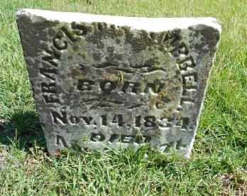 CAMPBELL, FRANCES M. - Howell County, Missouri | FRANCES M. CAMPBELL - Missouri Gravestone Photos