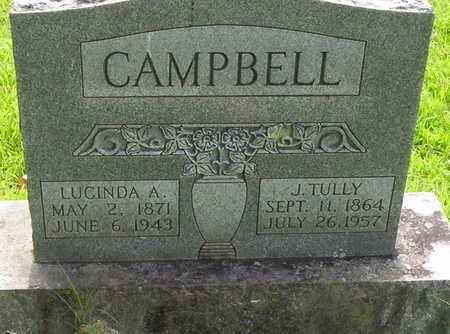 CAMPBELL, JAMES TULLY - Howell County, Missouri | JAMES TULLY CAMPBELL - Missouri Gravestone Photos