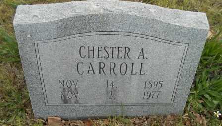 CARROLL, CHESTER A. - Howell County, Missouri | CHESTER A. CARROLL - Missouri Gravestone Photos