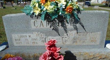 CARROLL, ROXIE EDNA - Howell County, Missouri   ROXIE EDNA CARROLL - Missouri Gravestone Photos