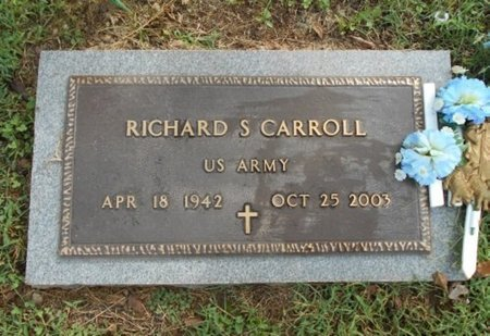 CARROLL, RICHARD STEPHEN VETERAN - Howell County, Missouri | RICHARD STEPHEN VETERAN CARROLL - Missouri Gravestone Photos