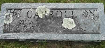 CARROLL, ZILLA BELLE - Howell County, Missouri | ZILLA BELLE CARROLL - Missouri Gravestone Photos