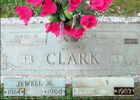 CLARK, JEWELL M. - Howell County, Missouri | JEWELL M. CLARK - Missouri Gravestone Photos