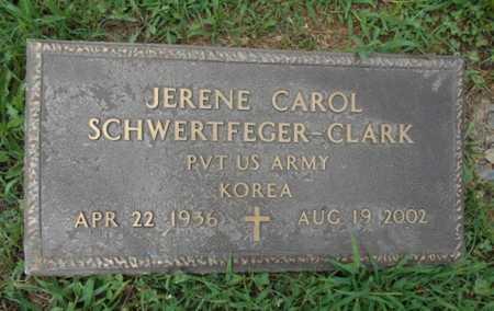 CLARK, JERENE CAROL VETERAN KOREA - Howell County, Missouri | JERENE CAROL VETERAN KOREA CLARK - Missouri Gravestone Photos