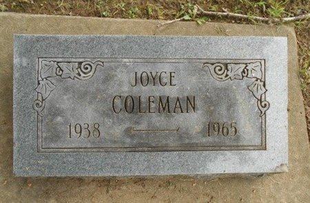 COLEMAN, MARTHA JOYCE - Howell County, Missouri | MARTHA JOYCE COLEMAN - Missouri Gravestone Photos