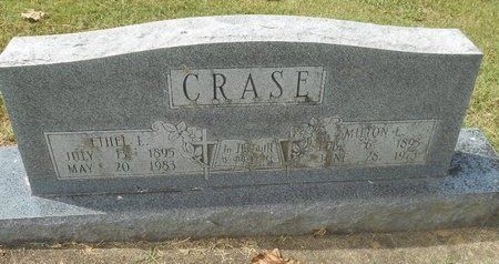 RISNER CRASE, ETHEL L - Howell County, Missouri | ETHEL L RISNER CRASE - Missouri Gravestone Photos