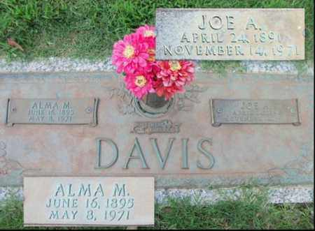 DAVIS, JOE A. - Howell County, Missouri | JOE A. DAVIS - Missouri Gravestone Photos
