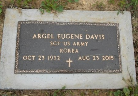 "DAVIS, ARGEL EUGENE ""GENE"" VETERAN KOREA - Howell County, Missouri | ARGEL EUGENE ""GENE"" VETERAN KOREA DAVIS - Missouri Gravestone Photos"