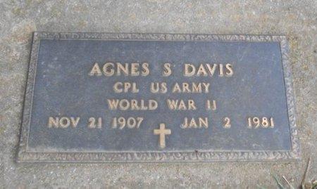 DAVIS, AGNES S. VETERAN WWII - Howell County, Missouri | AGNES S. VETERAN WWII DAVIS - Missouri Gravestone Photos
