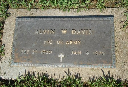 DAVIS, ALVIN WILLARD VETERAN - Howell County, Missouri   ALVIN WILLARD VETERAN DAVIS - Missouri Gravestone Photos