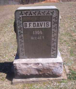 DAVIS, B F - Howell County, Missouri | B F DAVIS - Missouri Gravestone Photos