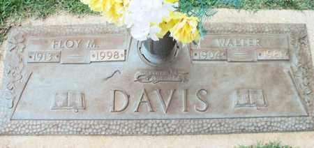 DAVIS, WALTER - Howell County, Missouri | WALTER DAVIS - Missouri Gravestone Photos